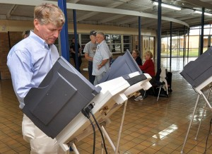 Voting Technologies: DRE machine