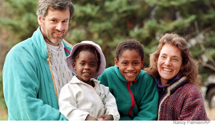 Interracial intercountry adoptions